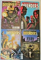 4 Comic lot: Defenders 1 2 3 4 ~ Marvel 2017 ~ Netflix ~ Cage ~  Free Ship!