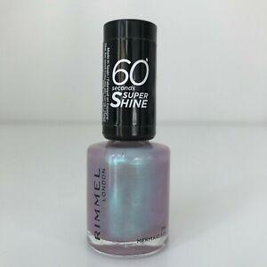 Rimmel nail polish Mermaid Fin 60 Seconds Super Shine 8ml nail varnish