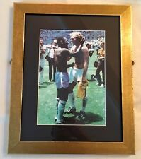 Pele & Bobby Moore Framed Photo 1970 World Cup. Great Stocking Filler.