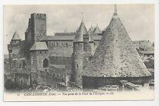 Postcard, France, Carcassonne, Vue prise de la Tour de l'Eveque