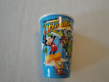 WELCOME TO FLORIDA DISNEY GLASS BY JERRY LEIGH -NICE - NO CRACKS OR CHIPS