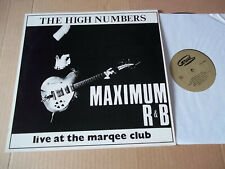 The Who- Maximum R&B Live at the Marquee (1964) rare live LP NOT TMOQ NM