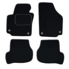 Fußmatten Auto Autoteppich passend für Seat Leon 2 II 1P1 2008-2012 CASZA0401
