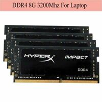 For Kingston HyperX Impact 8GB 16GB 32G DDR4 3200MHz PC4-25600 Laptop RAM UKB4