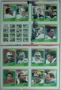 1988 TOPPS FOOTBALL UNCUT BOX PANELS (2) (HERSCHEL WALKER, RANDY WHITE, MARCUS A