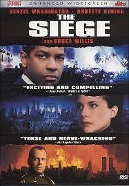 NEW DVD The Siege (Enhanced WS Edition) Denzel Washington Bruce Willis Annette