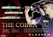 MONSTER JELLE KLAASEN 22g DARTS SET - THE COBRA - Handmade 90% Tungsten Steeltip