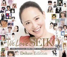 Matsuda Seiko We Love SEIKO Deluxe Edition 35th Anniversary 50+2 Songs CD Japan