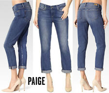 New PAIGE Women's ANABELLE Slim w/CABALLO Boyfriend's Jeans Made in USA Sz 24