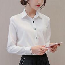 Blouse Women Office Career Shirts Tops Fashion Casual Long Sleeve Blouses Autumn