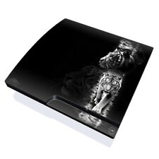 Sony PS3 Slim Console Skin - White Tiger by Michael McGloin - DecalGirl Decal