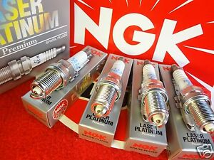 4 NGK Spark Plugs for Subaru Crosstrek Impreza Forester Outback Legacy FB20&25