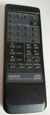 Denon Remote Control Unit RC-229 CD Player Black