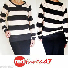 Bonds Polyester Striped Jumpers & Cardigans for Women