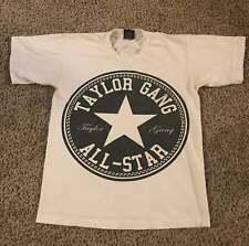 Converse Taylor gang all star White T Shirt Men Size M