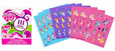 My Little Pony Party Favours Mini STICKER BOOK 9 Pages Genuine Licensed