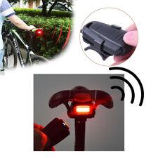 4 In 1 Bicycle Security Lock Wireless Bike Alarm Anti-theft Remote Control