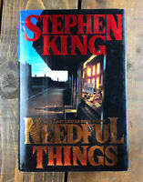 Stephen King - Needful Things - Hard Cover W/ Dust Jacket - 1ST EDITION 1991