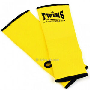 Twins Ankle Supports AG1 Yellow Anklets Muay Thai Kickboxing Protection