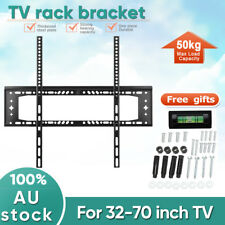 "LCD LED Flat Plasma TV Wall Mount Bracket 32"" 37 40 42 46 50 55 60 62 65 70 inch"