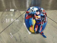 Superman Kinder Helm, einstelbar, 53-56cm. NEU