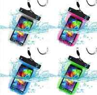 Waterproof Underwater Float Pouch Bag Case Armband For Cell Phone iPhone 5S 6 6S