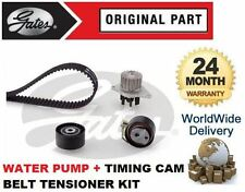 FOR PEUGEOT 206 + SW 1.4 2003-2008 TIMING CAM BELT + TENSIONER KIT + WATER PUMP