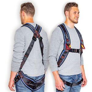 Kiting & Ground Handling Harness With Carabiners (Premium)