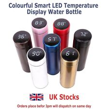 500ML Smart Water bottle - Vacum Insulated Hot/Cold Flask  with LED Display