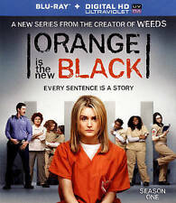 Orange Is the New Black: Season One (Blu-ray Disc, 2014, 3-Disc Set)