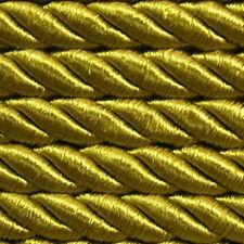 ab 5,0 m Satinkordel Ø8 mm  (ab 0,99 €/m) Antike Altgold Dekokordel Atlaskordel