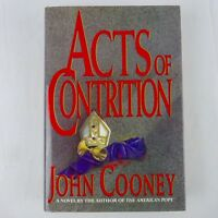 John Cooney: Acts of Contrition 1st Edition 1991 Catholic Thriller Drama