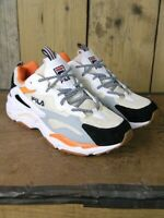 SALE Fila Bleached Sand Ray Tracer Trainers