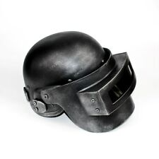 PUBG Playerunknown's Battlegrounds Level 3 Helmets Hallowmas Cosplay Silver Mask
