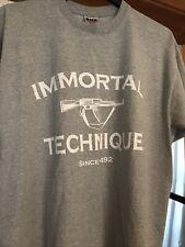 Vintage Immortal technique band tee XL