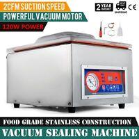 Vacuum Sealing Machine Commercial Hydraulic Pressure W/ Display Storage Kitchen