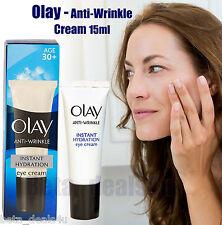 Olay Anti-Wrinkle Hydration Eye Cream 15ml Age 30+ Ageing Day & Night for Women