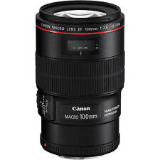 Spring Deals Sale Macro 100mm New Canon Ef 100 mm f/2.8L Macro Is Usm Lens