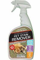 Pet Stain Remover & Odor Eliminator   Professional Strength (32 oz)