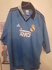 9edd90e13bf 1999 2000 Real Madrid Teka Adidas Football shirt supreme vintage XL⚽⚽⚽⚽
