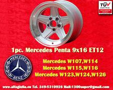 1 Cerchio AMG Mercedes Penta Style 9x16 ET12 Wheel Felge Llanta Jante mit TÜV