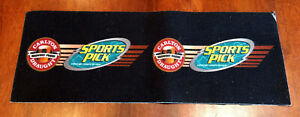 Rare Vintage Carlton Draught Sports Pick Tipping Competition Bar Runner