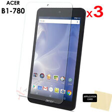 3 Pack of CLEAR LCD Screen Protector Cover Guards for Acer Iconia One 7 B1-780
