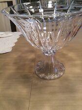 Crystal Pedestal Fruit Bowl Desert Bowl Tall Centerpiece