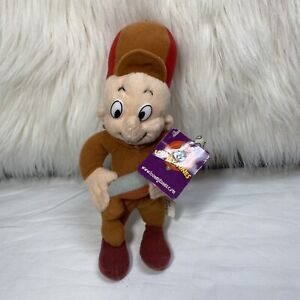"Elmer Fudd 9"" plush with gun, Looney Tunes Warner Brothers By Nanco"