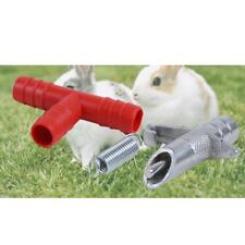 10 pcs Rabbit Water Feeders Nipples for Automated Watering System Waterer