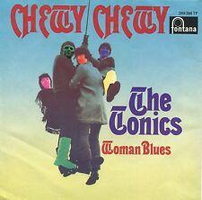 """Deutscher Beat : THE TONICS - 7"""" Chewy Chewy / Woman Blues (D,Fontana,1968)"""