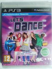 LETS DANCE WITH MEL B. JUEGO PS3. REQUIERE PS MOVE. PAL-ESP. NUEVO, PRECINTADO.