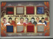 2017-18 In The Game Used Howe Hull Mikita Beliveau 8 Piece Jersey Card #ed 5/ 30