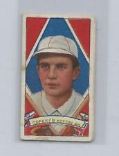 1912 T202 Hassan TRIS SPEAKER Boston Red Sox End Panel Vintage Old Baseball Card